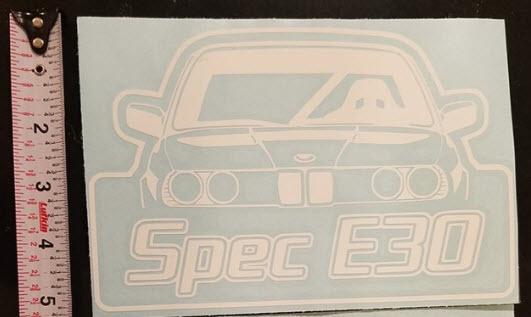 SE30 Logo Decal